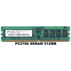512MB PC2700 333Mhz DDR ECC REGISTERD SERVER RAM 184-PIN