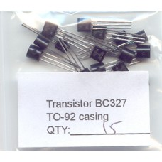 BC327 PNP General Purpose Transistors. 15 Transistors Pack.