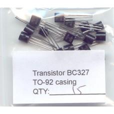 BC327 PNP General Purpose Transistors. 15 Transistors Pack.