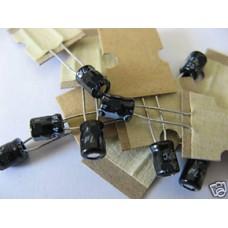 47uF Electrolytic Capacitors 16V (25 Capacitors Pack)