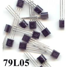 79L05 -5V 100mA NEGETIVE REGULATOR (pack of 50)