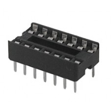 IC sockets for 14 pins DIP ICs, solder type. (Pack of 10)