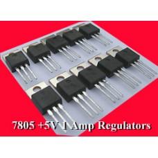 LM7805 1Amp +5V POSITIVE REGULATORS (Pack 0f 15)