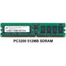 512MB PC3200 400MHZ DDR ECC REGISTERD SDRAM 184-PIN DIMM