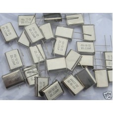 22.1184MHz CRYSTALS. (Pack of 10).