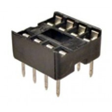 IC Sockets for 8-pins ICs quality solder type (pack of 10)