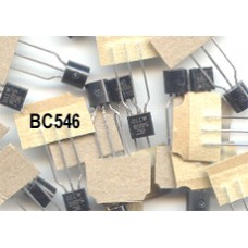 BC546 NPN Transistors (BC 546 BC546B). Pack of 25 transistors.