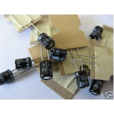 4.7uF Electrolytic Capacitors 35V (Pack of 25 Capacitors)