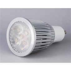 GU10 Socket Warm White 5W, LED Spotlight, Downlights. 240 Volts,  50/60 HZ .