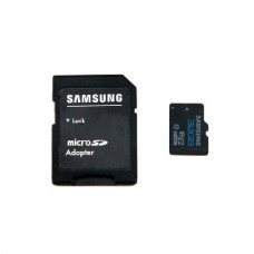 Samsung 32GB TF Micro SD Memory Card with Adapter (Black)