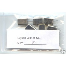 4.9152MHz CRYSTALS. (Pack of 10)