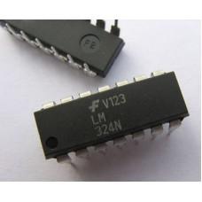 LM324 Quad Op Amp 14-DIP ICs (30 pieces pack)