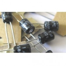 1uF Electrolytic Capacitors 50V (25 capacitors pack)