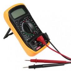Digital LCD Multimeter, Voltmeter, Ohmmeter, Ammeter, Diode & Transistor tester