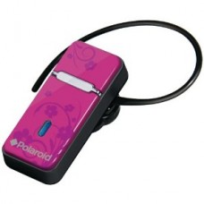 Bluetooth headset (ear piece). Light Weight Design, colour pink.