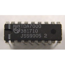 TDA7000 - FM Radio Receiver IC - Manufactured by Philips. (Pack of 2)