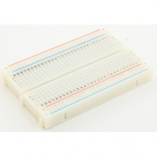 Solderless Prototype Breadboard 400 contacts, inter-lockable.