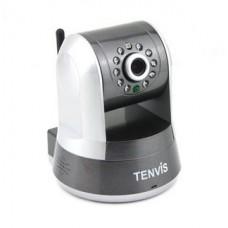 Tenvis indoor IP camera HD, Pan Tilt, P2P, IR Cut, Night Vision, WPS, Wireless, Wi-Fi, Network