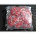 100 X Red Leds 3mm (Light Emitting Diodes). Pack of 100 Leds.
