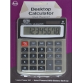 Office Desktop Calculator. Dual powered. Solar with battery backup & auto power off.