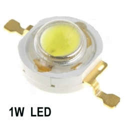 1W LEDs Warm white Color Super Bright High Power 90Lm. (pack of 3)